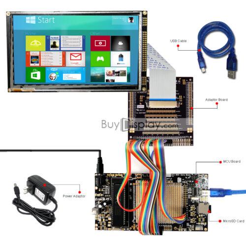 "8051 Microcontroller Development Board Kit USB Programmer for 7/""TFT LCD Module"