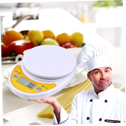 WH-B04 5kg//1g LCD Digital Electronic Kitchen Scale for Food Balance Weighing DE