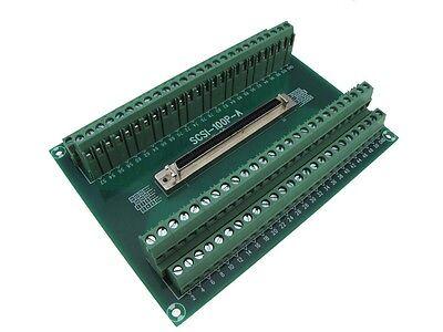 CN20 Pin SCSI Female Signals Breakout Board Module Din Rail servo drive motor