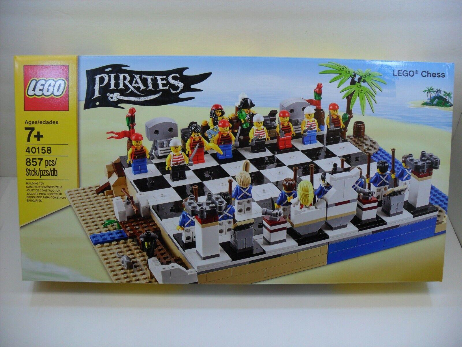 Sealed LEGO LEGO LEGO 40158 Pirates Chess Set 857 Pcs 60bdd1