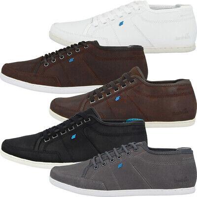 Boxfresh Sparko Matt Nylon Schuhe Men Low Cut Freizeit Sneaker Schnürer E15580