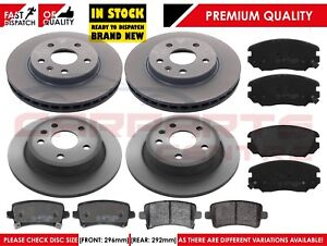 FOR-VAUXHALL-INSIGNIA-1-4-1-8-2-0-CDTi-2008-2014-FRONT-REAR-BRAKE-DISCS-PADS-SET