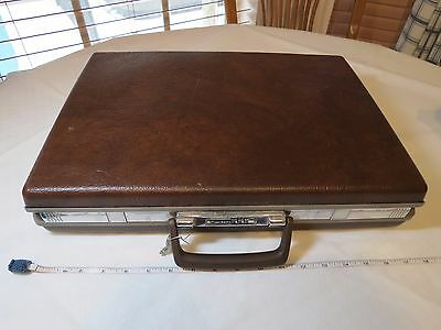 Samsonite Classic 100 Hard Shell Briefcase Combination Lock VINTAGE attache RARE