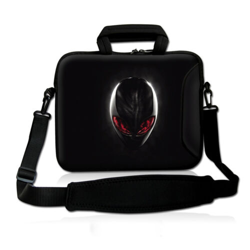 "Alien 17/"" 17.3/"" Laptop Shoulder Bag Sleeve Case Pouch For HP Dell Microsoft"