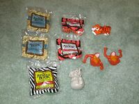 Lot Of 9 The Jungle Book Mcdonalds Happy Meal Toys 1989 2 Under 3 Version