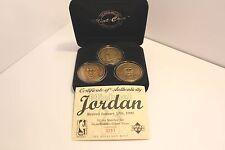 Michael Jordan Highland Mint - Solid Bronze 3 Coin Retirement Set /5,000 w/COA