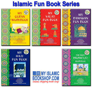 ISLAMIC FUN WORKBOOK SERIES GOODWORD KIDS BOOKS FOR MUSLIM CHILDREN ...