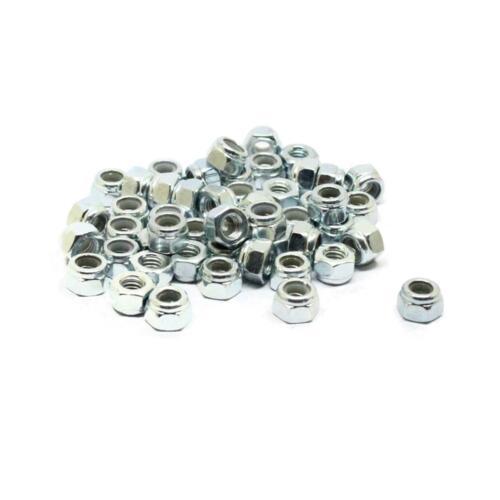 Stainless Steel Nylon Insert Hex Lock Nut M2.5 M3 M4 M5 M6 M8