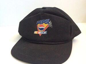 Image is loading Vintage-Pepsi-Nascar-Snapback-Snap-Back-Cap-Hat- 8cdf846a1671