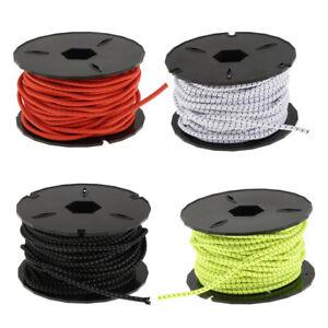 Shock Cord Elastic Bungee Rope Tie Down Stretch Rope 8mm 15m
