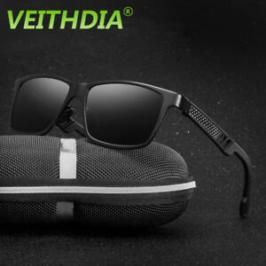 6902dfae34 Image is loading Veithdia-Aluminium-Polarized-Sunglasses-Outdoor-Sports-Sun- Glasses-
