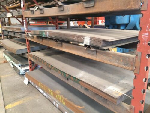 "1//2/"" .500 HRO Steel Sheet Plate 12/"" x 12/"" Flat Bar A36"