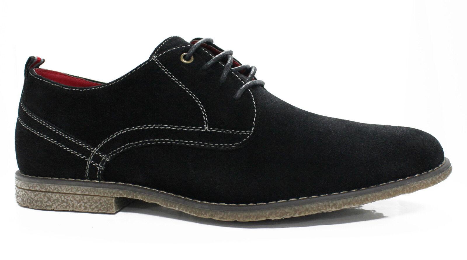 shoes OXFORD HOMME DIAMANT black EN DAIM CASUAL shoes 40 41 42 43 44 45