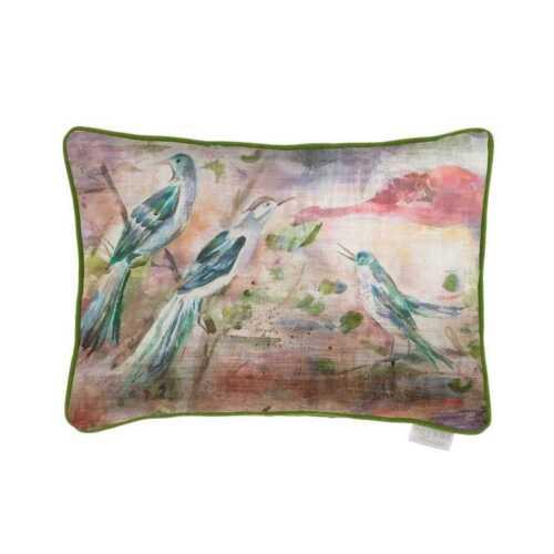 Duck Filler Voyage Maison Cordelia Sunset Velvet 40x60cmBird Cushion