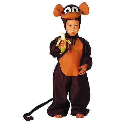 Vestito Costume Carnevale Scimmietta 1 2 3 4 5 Anni Novel (In) Design;