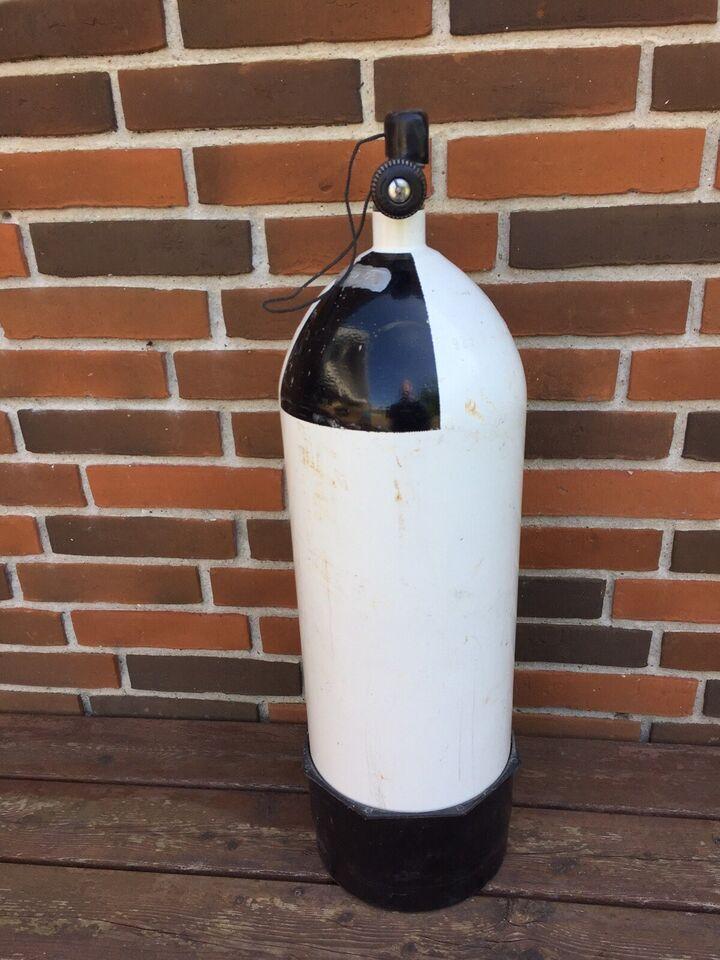 Dykkerflaske 15 liter