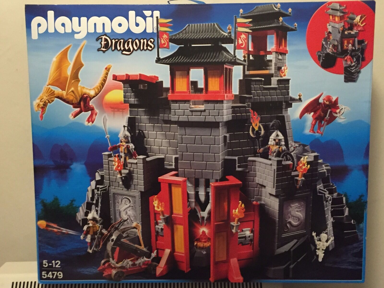 PLAYMOBIL MEDIEVAL KNIGHTS 5479  GRAN CASTILLO DEL DRAGON ASIATICO  autorisation officielle