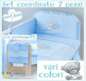 Set-coordinato-Porta-oggetti-per-lettino-culla-vari-colori-prezzo-conveniente