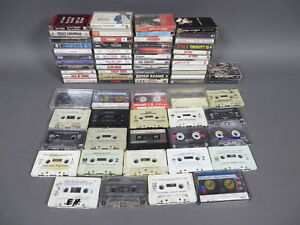 Lot-of-78-Vintage-Cassette-Tapes-Rock-Country-Pop-1980-039-s-1990-039-s-Hits