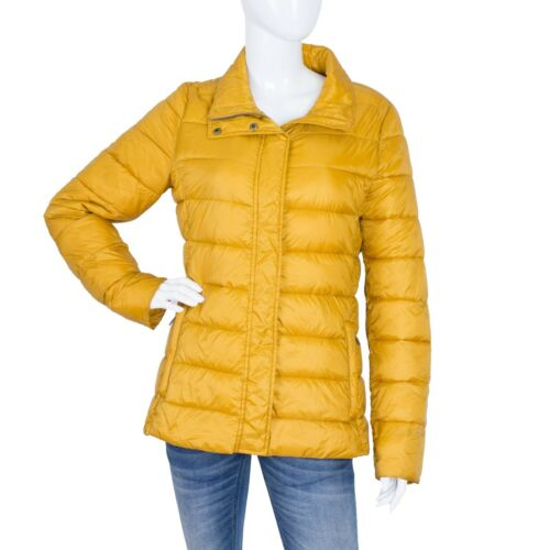 Barbour Women's Farne Quilted Jacket Yellow Fibre