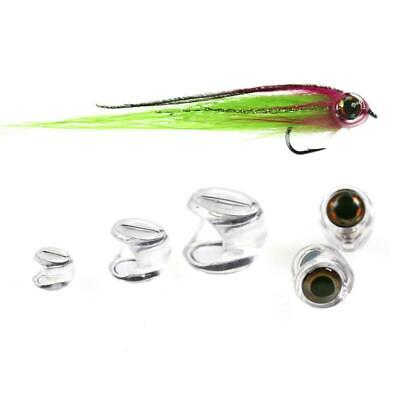 1Bag Fish Head For Streamer Flies Fly Fishing Lure Tying Fly Material 4//6//8 New