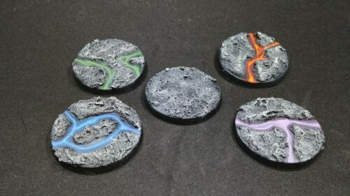 Wargaming Bases Roughlands Gray Finished Bases Multiple Sizes and Styles