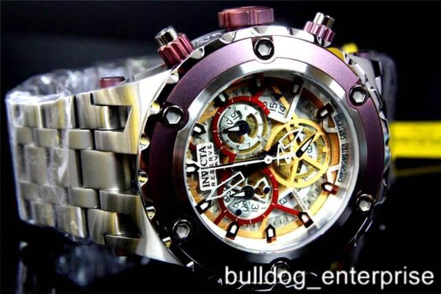 Mens Invicta Reserve Subaqua Specialty COSC Swiss Chronograph Watch New
