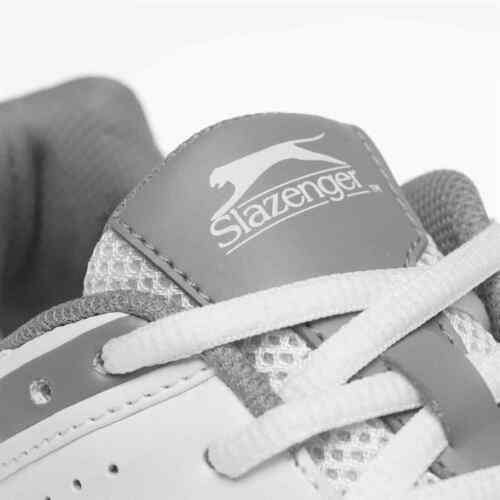 Slazenger Mens V Series Cricket Shoes Spikes Lace Up Breathable Mesh Upper
