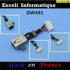 DELL INSPIRON 13-7348 dc jack power socket connecteur de câble harnais fil port