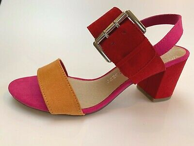 Marco Tozzi Multi open toe buckle sandals with ankle strap, UK 4EU 37, BNWB | eBay