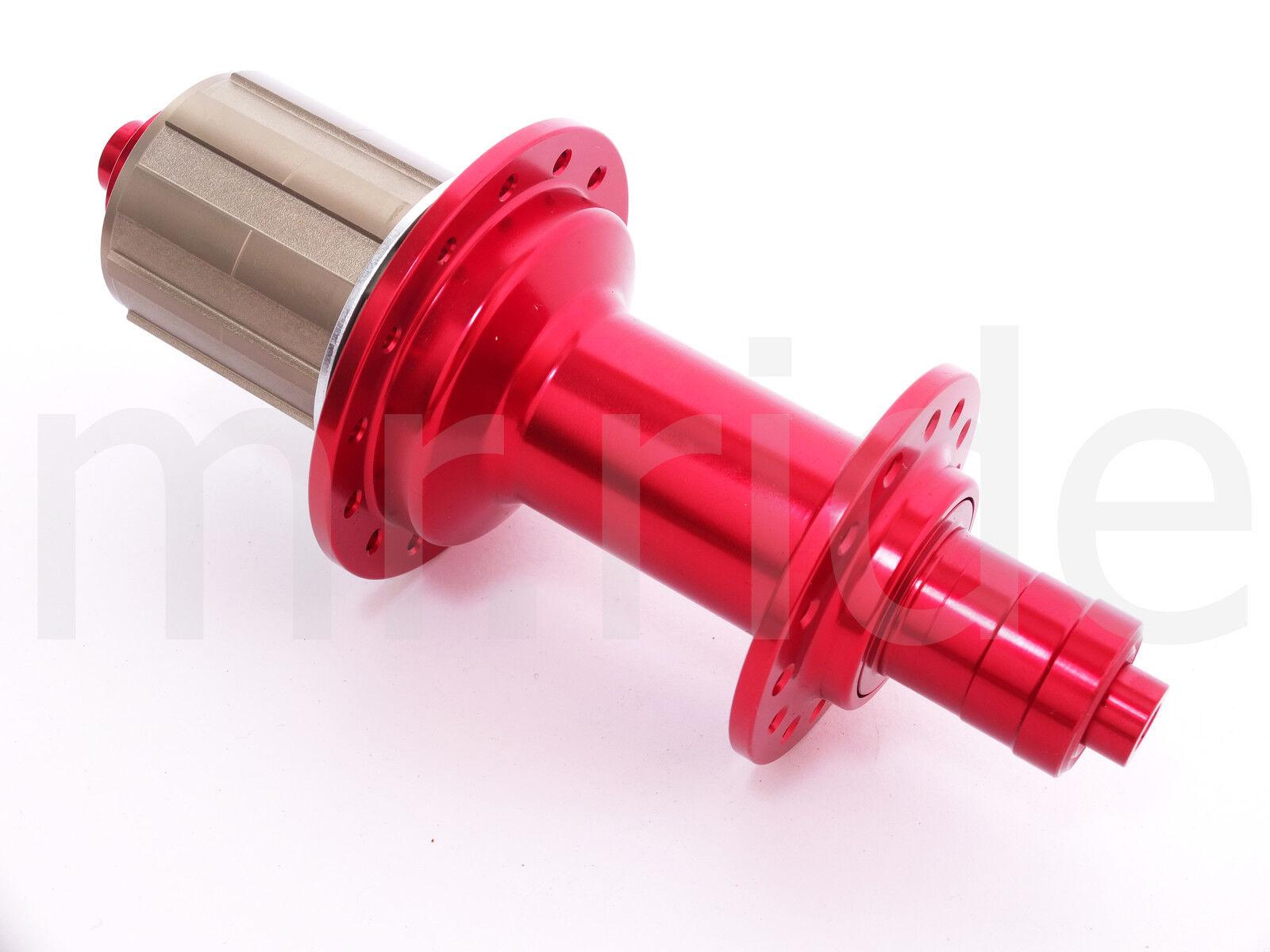 UniQ  Rear Hub R013 48T 28H Sram 10,11 Speed Red for Road bike wheel