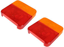 2 x SPARE REPLACEMENT REAR LIGHT LAMP LENS COVER TOWING TRAILER BOARD FOR MP10