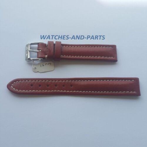 Breitling Brown Leather Strap 15/14 NEW GENUINE ORIGINAL