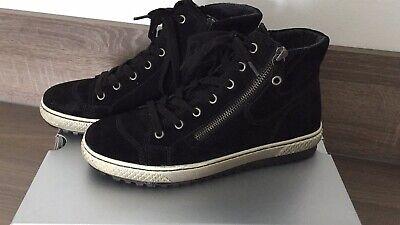 Neuwertige Gabor Sneaker High Knöchelsneaker Stiefeletten Schwarz 37,5 | eBay