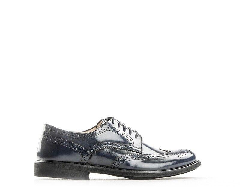 Zapatos Florsheim hombre Navy brogue, natural de cuero 51973-65