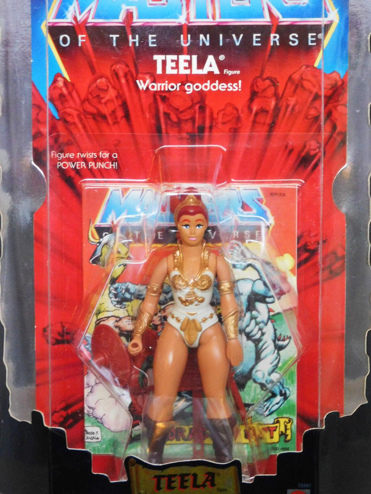 MASTERS OF THE UNIVERSE TEELA 2001 Commemorative Ltd 10,000 MOTU_28997_NRFB