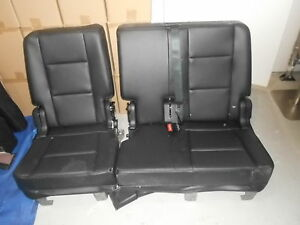 2016 ford explorer leather second row bench seat 60 40 2015 ebay. Black Bedroom Furniture Sets. Home Design Ideas