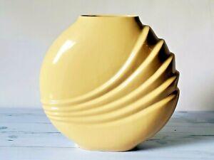 Haeger-Art-Deco-Vase-Royal-Haeger-Pottery-Hickman-Pottery-Beige-10-Tall