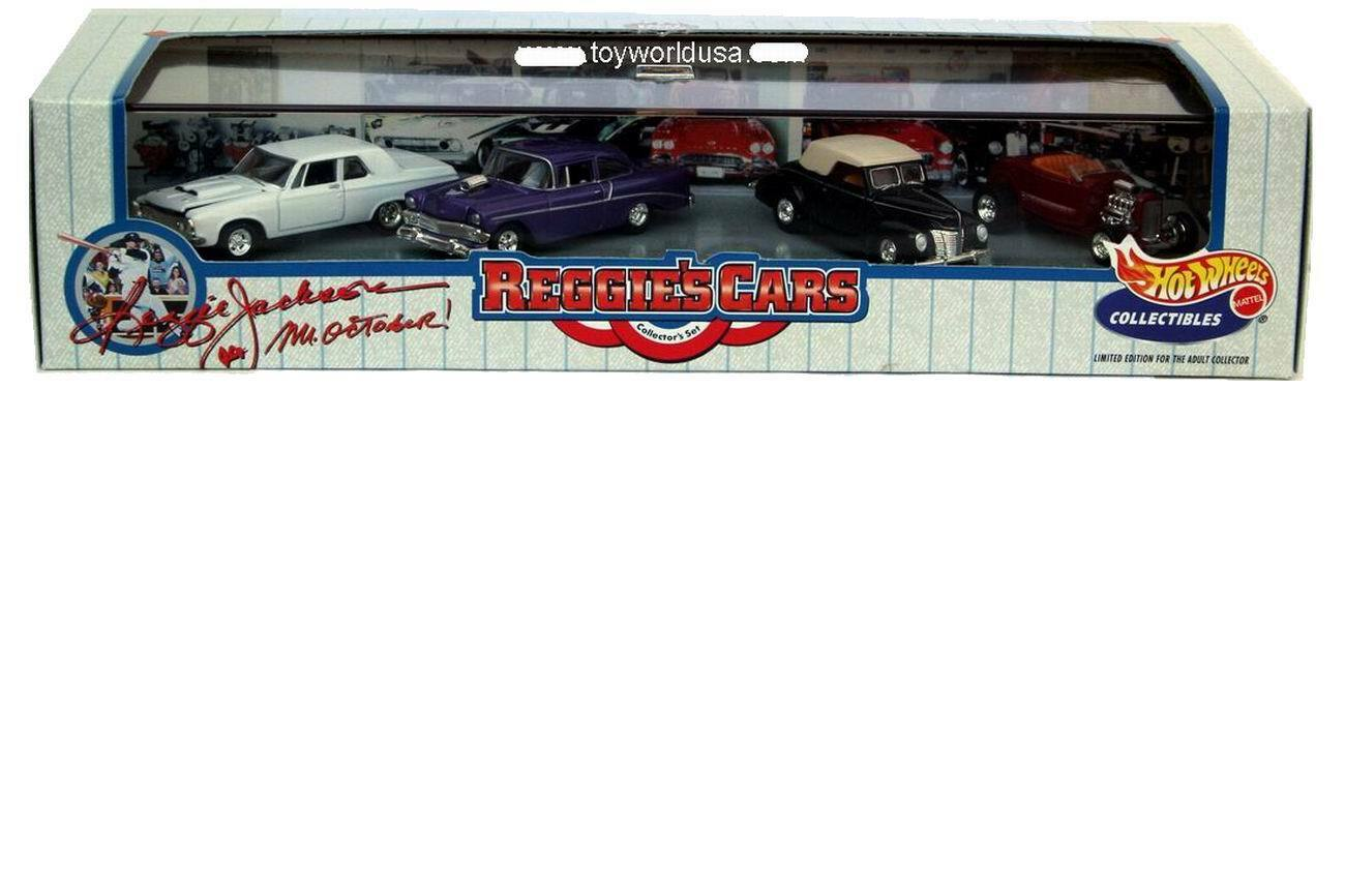 Hot Wheels 100% Reggie's coches'32 Ford Hi-Boy,'40 Ford, Chevy'56,'63 Plymouth