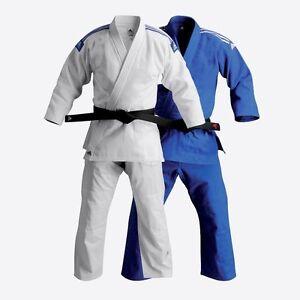 6e7c629459 Image is loading adidas-BJJ-Judo-Lightweight-Training-Gi-w-Belt-