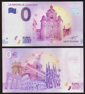 0 euro schein LA ROCHELLE la grosse horloge - 2018 - UNC - Frankreich