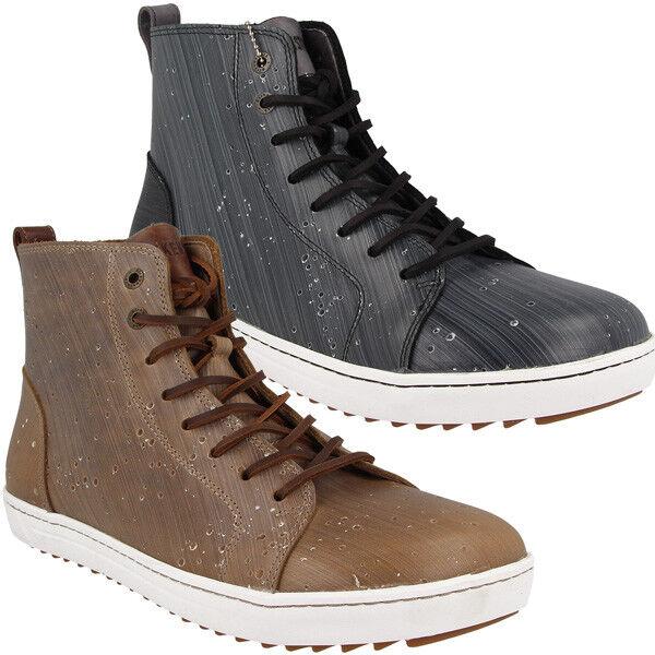 Birkenstock Bartlett Uomo Natura Scarpe in Pelle Stivaletti Uomo High Top Sneaker Stivaletti Pelle 12c792
