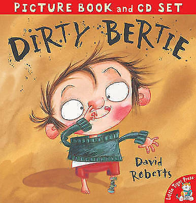 Dirty Bertie (Picture Book & CD)-ExLibrary