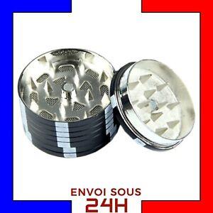 Grinder-Herbe-Jetons-de-poker-Noir-moulin-broyeur-tabac-Metal-Fer-fumeur-wee2