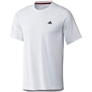New mens adidas essentials climalite t shirt top for Adidas custom t shirts