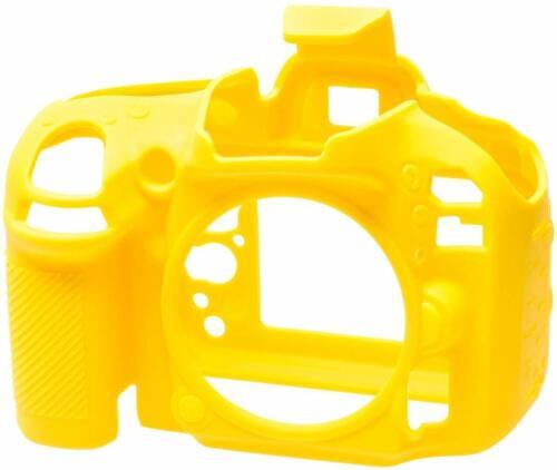 1 x easycover by Bilora case para Nikon d600 amarillo funda protectora de silicona nuevo