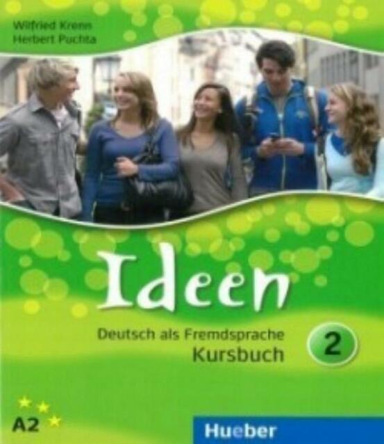 Ideen Deutsch als Fremdsprache Kursbuch vol.2 HUEBER scuola cod:9783190018246