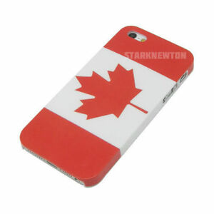 2d6045120ac Canada Flag iPhone 5 5S SE Case Cover + Free Screen Protector