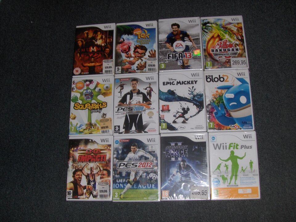 Diverse, Nintendo Wii