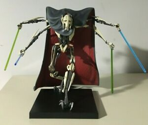 Kotobukiya Star Wars Artfx General Grievous 1 10 Repaired Parts Read Desc Ebay